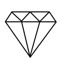 Diamante Dibujo Buscar Con Google Lila Pinterest Fiancailles