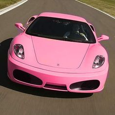 Pink Ferrari ☆ Girly Cars for Female Drivers! Love Pink Cars ♥ It's the dream car for every girl ALL THINGS PINK!