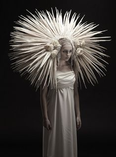 """Eaton.. """"Roadkill Couture."""" bridal collection. Turning death into beauty."""