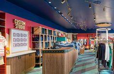 Flagship store de Pepe Jeans en Londres. Regent St. #Pepe #flagship #London