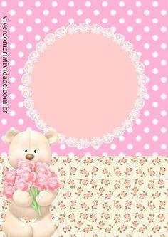 Kit Festa Ursa Princesa Gratis 40th Birthday Cards, Cartoon Kids, Teddy Bear, Scrapbook, Paper, Christmas, Crafts, Tags, Decorated Picture Frames