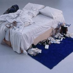 View My Bed by Tracey Emin on artnet. Browse more artworks Tracey Emin from Saatchi Gallery. Louise Bourgeois, Tracey Emin Bed, Women Artist, Unmade Bed, Instalation Art, Nan Goldin, Cindy Sherman, Saatchi Gallery, Feminist Art