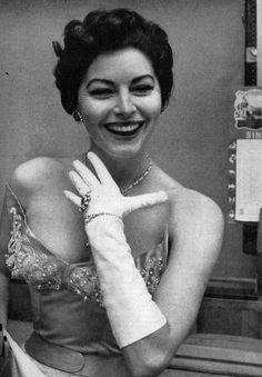 Ava Gardner, Roma, 1954