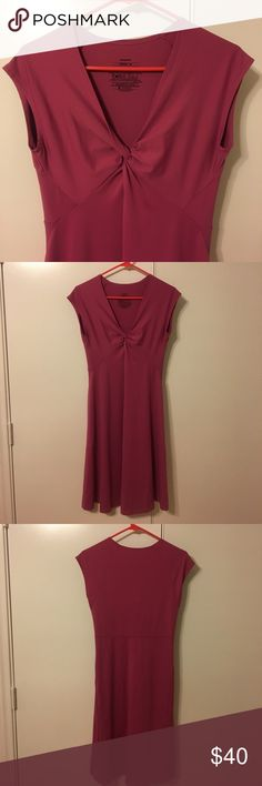"""Patagonia Bandha Dress Excellent like-new condition rosy pink Patagonia dress. Size M. Stretchy and flattering. Bust 15.5"""" waist 14"""" length 38"""". Patagonia Dresses Mini"""