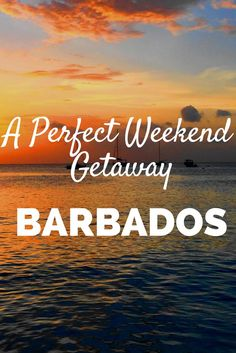 Discover the perfect long weekend in Barbados. Find out what to do in Barbados, where to stay, and what you need to know to have the time of your life! Beautiful Islands, Beautiful Beaches, Travel Guides, Travel Tips, Travel Articles, Travel Info, Caribbean Vacations, Caribbean Cruise, Beaches In The World