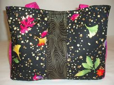 Tote Bag Diaper Bag Michael Miller fabric by JillRdesigns on Etsy, $35.00
