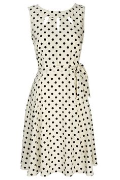 White Spot Dress / Wallis