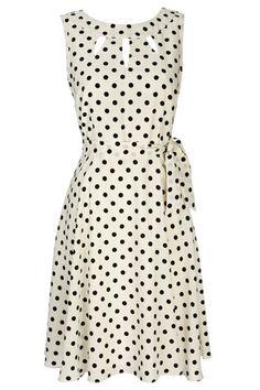 White Spot Dress / Wallis
