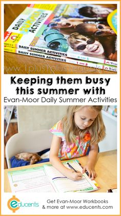 Evan-Moor Daily Summer Activities Workbooks ~ Great for summer learning!