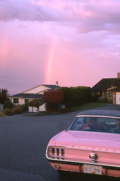 Pink mustang & pink sky aesthetic pictures, aesthetic photo, photography names, product photography Sky Aesthetic, Aesthetic Collage, Aesthetic Rooms, Aesthetic Vintage, Aesthetic Photo, Aesthetic Pictures, Rainbow Aesthetic, Aesthetic Quiz, Pink Tumblr Aesthetic