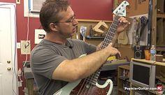 How to set up a bass