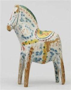Charming old dala horse from Risa