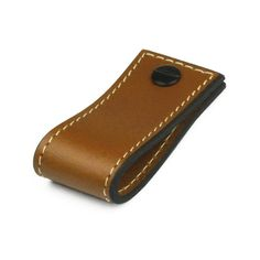 Leather Tab   Contrast Stitch   Saddle Tan