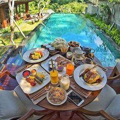 Ubud bliss  #breakfast #brunch #coffee #morning #bali #balilocal #love #travel #jetsetter #ubud #beautiful #summer #holidays #sun #bikini #pool #chasethesun #wanderlust #happydays #bliss #paradise #cocktails #thisisbali - :ca