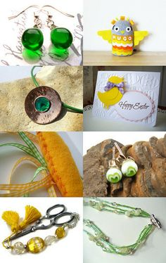 Fresh Spring Finds! by Jen on Etsy--Pinned with TreasuryPin.com