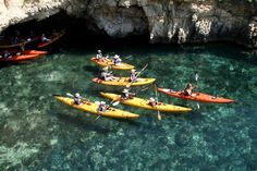 Sea kayaking in Malta and Gozo is one of the best ways to experience the natural beauty of the Maltese Island's shorelines. At Sea Kayak Malta we have the most experienced and qualified staff and top quality equipment imported from America and France. Our tours take in some of the most beautiful scenery of the Maltese Islands, visiting unspoilt beaches where we also take time for snorkeling and exploring. So take a trip with us and put a little adventure into your holiday!