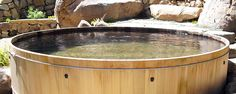 Wooden Hot Tubs from Gordon & Grant