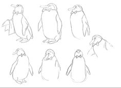 Kahl's Penguins   ★ || CHARACTER DESIGN REFERENCES (www.facebook.com/CharacterDesignReferences & pinterest.com/characterdesigh) • Love Character Design? Join the Character Design Challenge (link→ www.facebook.com/groups/CharacterDesignChallenge) Share your unique vision of a theme every month, promote your art and make new friends in a community of over 20.000 artists! || ★