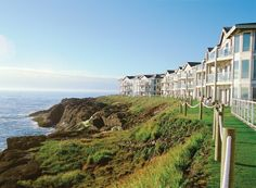 WorldMark Depoe Bay, OR - It's no accident that the resort at Depoe Bay is situated in the whale-watching capital of the Oregon Coast. A visit here is your ticket to sunsets, romantic walks and fine dining with vast views of the ocean and the rugged, wild coastline.