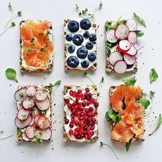 of the Toast and Tartine Recipes on The Feedfeed Healthy Desayunos, Healthy Snacks, Healthy Recipes, Healthy Nutrition, Healthy Eating, Food Flatlay, Cocina Natural, Snacks Für Party, Food Design