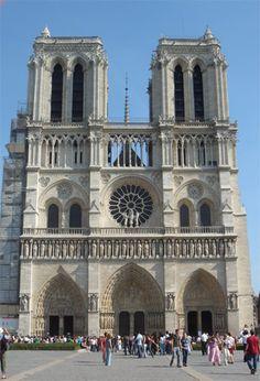 Notre-Dame de Paris Cathedral in Paris France - When and how to visit Notre-Dame de Paris