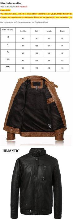 Leather Jacket Men Motorcycle Jackets jaqueta de couro masculina casaco male chaqueta cuero hombre mens leather bomber jacket