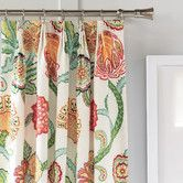 Found it at Wayfair - Eastern Accents Portia Cotton Pleated Curtain Single Panel