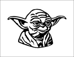 Yoda Star Wars Vector Model  svg cdr ai pdf eps files  by DYours