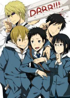 Durarara!! | Kida Masaomi | Ryugamine Mikado | Anri Sonohara | Orihara Izaya | Heiwajima Shizuo | Alice :3