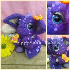 Custom Slot for a Handmade Needle Felt Dragon 6 by PuppyduckMakes