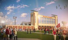 Salisbury University Stadium / GWWO Inc. Architects » Endeavors » Higher Education -  Completion 2016