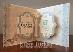 Altered Scrapbooking: Birthday Cards 2015