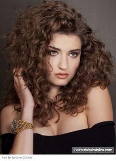 'romantic' curls