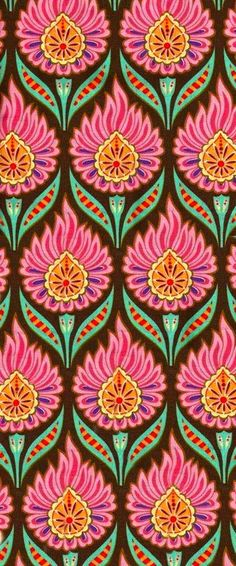 iPhone or smartphone pink, green and orange wallpaper or lock screen background design.