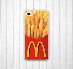 French Chips Fries iPhone 5 case. all this phone case does is showcase my unhealthy food obsession
