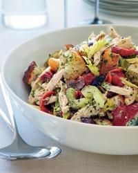This is a pretty chicken salad.