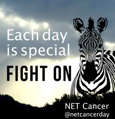 Each day is special. We are many NET Cancer survivors. The number of persons living with NETs (prevalence) is calculated to 35/100 000. Fight on.  Learn more http://netcancerday.org/learn-more/what-is-net-cancer