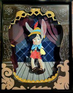 Pinocchio Paper Art by justin-mctwisp.deviantart.com