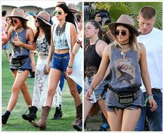 Coachella - Kylie Jenner in Chaser Tank available at Havoc <3