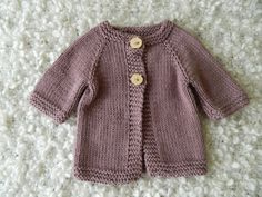 Natural Knit Baby Girl Three Quarter Sleeve Purple Summer Cotton Bamboo Cardigan Sweater With Wooden Buttons Boy Or Girl, Baby Boy, 3 Month Old Baby, Knit Baby Sweaters, Baby Knitting, Sweater Cardigan, Monitor, Knitwear, Quarter Sleeve