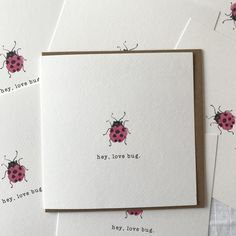 Unique Irish designed greeting card ideal for Valentine's day. Square format greeting card on beautiful textured card, supplied with a Kraft envelope. Irish Design, Beautiful Christmas Cards, Hey Love, Winter Magic, Love Bugs, Kraft Envelopes, Blank Cards, Watercolor Paper, New Baby Products