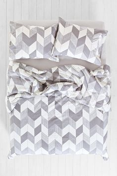 Assembly Home Adele Chevron Duvet Cover