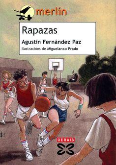 Rapazas de Agustín Fernández Paz en el grupo de 2º- 3º ESO.