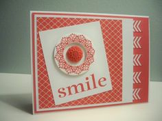 Stampin' Up | Mojo Monday | My Stampin' Project. Happy Day.