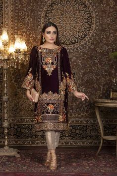 Products – Page 11 – Libas-e-Khaas Pakistani Fashion Party Wear, Indian Bridal Fashion, Pakistani Dress Design, Pakistani Outfits, Designer Party Wear Dresses, Indian Designer Outfits, Velvet Dress Designs, Bridal Dress Design, Designs For Dresses