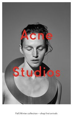 Acne Studios Advertising Campaign by Viviane Sassen Ad Fashion, Fashion Studio, Editorial Fashion, Fashion Check, Acne Studios, Fashion Advertising, Advertising Campaign, Brand Advertising, Editorial Photography