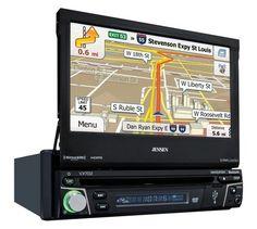"Jensen VX7012 MultiMedia Receiver 7"""" TFT NAV / SXM Ready / Pandora / iPod / iPhone / Bluetooth & Ext Mic / USB"