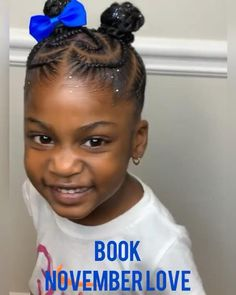 Little Girl Braid Styles, Little Girl Braids, Braids For Kids, Cornrow Styles For Kids, Toddler Braid Styles, Kids Braids With Beads, Little Black Girls Braids, Toddler Braids, Kid Braids