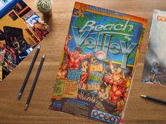 Beach Volley Amiga !  #amiga #amiga500 #beachvolley #commodore #16bit  #videogames #cartridge #sprites #lasergame #retrocollective #retrocollection #collezioni #videogiochi #retrogames #twitter