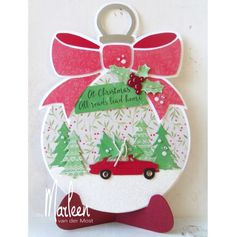 Discover our extensive range of hobby and craft supplies of more than products, including the article Marianne Design stencil craft christmas baulb by Marleen. Driving Home For Christmas, Christmas Home, Christmas Baubles, Handmade Christmas, Christmas Crafts, Christmas Ideas, Hobbies And Crafts, Diy And Crafts, Advent
